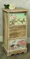 French Shabby Chic Bedside Table